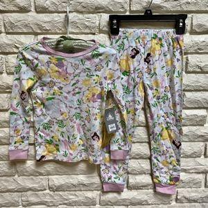 Disney Store Princess 2-piece long john pajamas 5